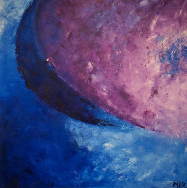 Schilderij 165 - Olieverf op doek - 100 x 100 cm - € 125,-